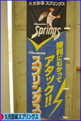 にほんブログ村 その他スポーツブログ 久光製薬スプリングスへ