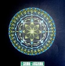 にほんブログ村 美術ブログ 曼荼羅画・点描曼荼羅画へ