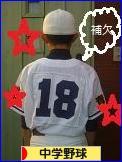 にほんブログ村 野球ブログ 中学野球へ