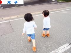 にほんブログ村 子育てブログ 双子へ