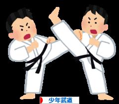 にほんブログ村 格闘技ブログ 少年武道へ