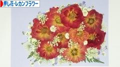 にほんブログ村 花・園芸ブログ 押し花・レカンフラワーへ