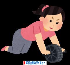 にほんブログ村 ダイエットブログ 40代女性のダイエットへ